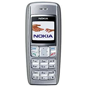 Nokia 1600 Unlocked Cell Phone--U.S. Version with Warranty (Gray)