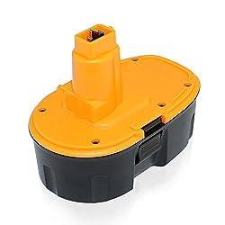 efluky 3.0Ah 18V Rechargeable Replacement Battery for Dewalt DC9096, DE9039, DE9095, DE9096, DE9098, DW9095, DW9096, DW9098, DE9503 from efuky