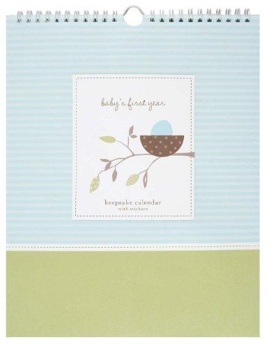 Pepperpot Baby's First 12 Months Calendar, Nest