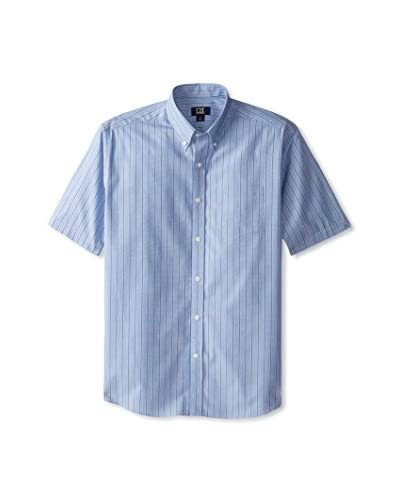 Cutter & Buck Men's Rhys Stripe Short Sleeve Shirt