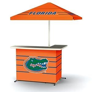 NCAA Florida Gators Portable Wheel Bag Travel L-Shape Umbrella Basic Bar Orange by Best of Times
