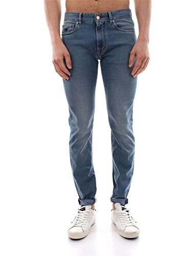 HENRY COTTON'S 12496 91 24636 DENIM JEANS Uomo DENIM 31