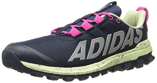 Adidas Performance Women's Vigor 6 Women's Trail Running Shoe,Collegiate Navy/Shock Pink/Halo,9 M US