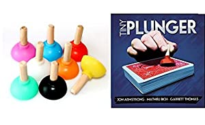 (Tiny Plunger 3 *Ambizu*) New Tiny Plunger 3pcs/set YIF magic show finding close-up street card magic tricks magic props