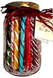 Gift Jar: Old Fashion Candy Sticks Assorted
