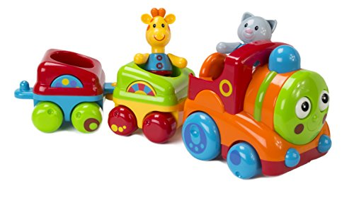 Early Learning Centre (ELC) Toybox Musical Animal Train Baby Toy - 1