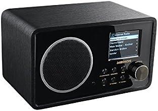 MEDION LIFE E85038 (MD 87238) Wireless LAN Internet-Radio UKW, DLNA, UPnP, WLAN, MP3, WMA, schwarz