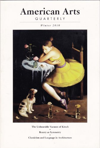 American Arts Quarterly, Winter 2010, Volume 27, Number 1, Cooper, James F. (editor)