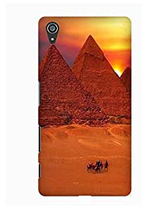 Pick Pattern Back Cover for Sony Xperia Z5 (MATTE)