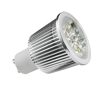 kosnic gu10 7 watt 6500 k led energy saving light bulb lighting. Black Bedroom Furniture Sets. Home Design Ideas