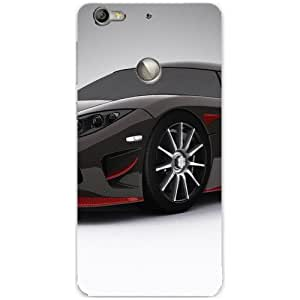 BetaDesign Cars Back Cover, Designer Cover for Letv Le1s Eco (Multicolor)