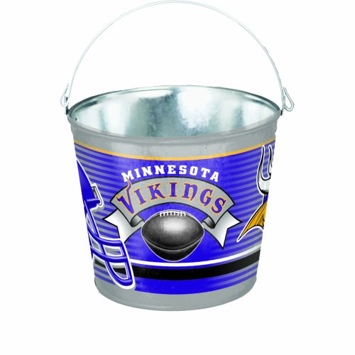 Minnesota Vikings 5-Quart Pail