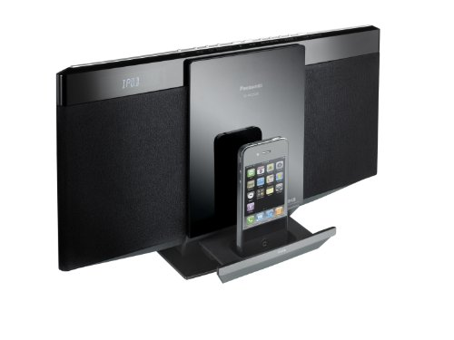 Panasonic SC-HC25DBEBK 10W DAB Micro System with iPod iPhone Dock and USB Playback