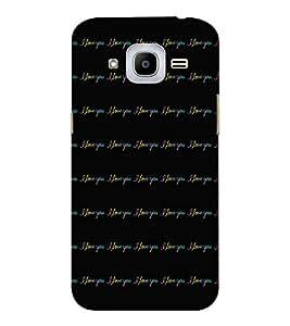 EPICCASE limitless love Mobile Back Case Cover For Samsung J2 2016 (Designer Case)