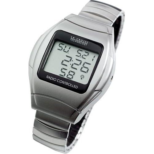 Amazon.com: La Crosse Technology WT-967SL Metal Strap Atomic Watch