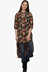 Fugue Printed Tunic For Women