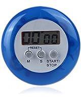 Anself Minuteur electronique multifonctionnel aimant ustensile de cuisine plusieurs couleurs /Chronomètre - Minuteur & Alarme (bleu)