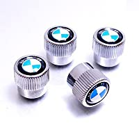 Bmw Logo Abs Chrome Finish Tire Stem Valve Caps from BMW