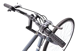 "Professional Premium Mens Cheapest Hybrid City Trekking Bike 6 Speed Grey 21"" Frame"