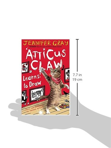 Atticus Claw Learns to Draw (Atticus Claw: World's Greatest Cat Detective)