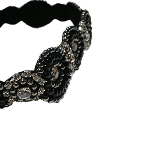 Beautiful-Black-with-Diamond-Accent-Gatsby-Flapper-1920s-Rhinestone-and-Beaded-Headband-Comes-with-Look-Sheet-18-Inspired-Great-Gatsby-20s-Styles