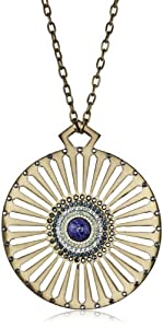 "Fiona Paxton ""A New Season A New Start"" Alma Gold Color Pendant Necklace"