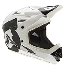 SixSixOne Comp Helmet (White/Black, Medium)