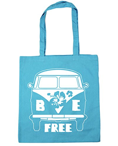 hippowarehouse-be-free-vintage-camper-van-tote-shopping-gym-beach-bag-42cm-x38cm-10-litres