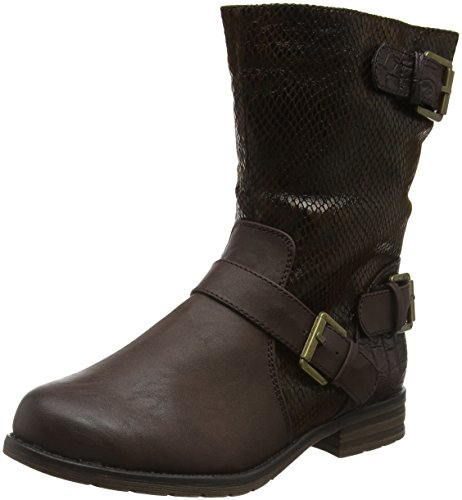 LotusCali - Stivaletti donna , Marrone (Brown (Brown Print)), 36 2/3