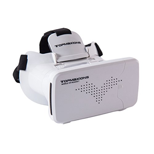 3D VR Glasses,Topmaxions™ 3D Virtual Reality Mobile Phone 3D Movies for iPhone 6s/6 plus/6/5s/5c/5 Samsung Galaxy s5/s6/note4/note5 and Other 3.5
