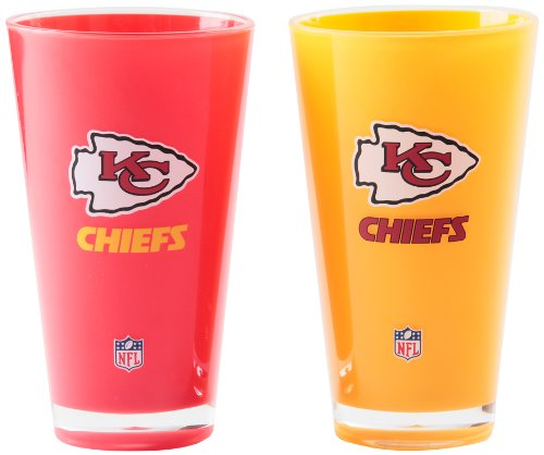 NFL Kansas City Chiefs 20-Ounce Insulated Tumbler - 2 Pack at Amazon.com