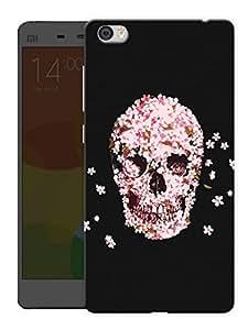 "Humor Gang Skulls And Petals Printed Designer Mobile Back Cover For ""Xiaomi Redmi Mi5"" (3D, Matte, Premium Quality Snap On Case)"