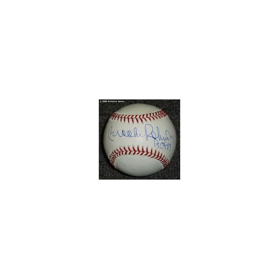 Brooks Robinson Signed MLB Baseball w/HOF83