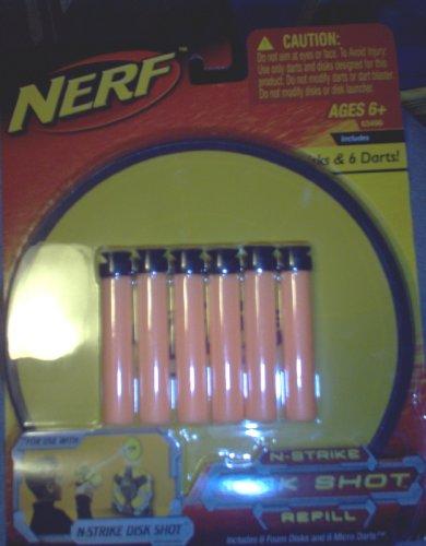 Nerf N-strike Disk Shot Refill - Buy Nerf N-strike Disk Shot Refill - Purchase Nerf N-strike Disk Shot Refill (Hasbro, Toys & Games,Categories)