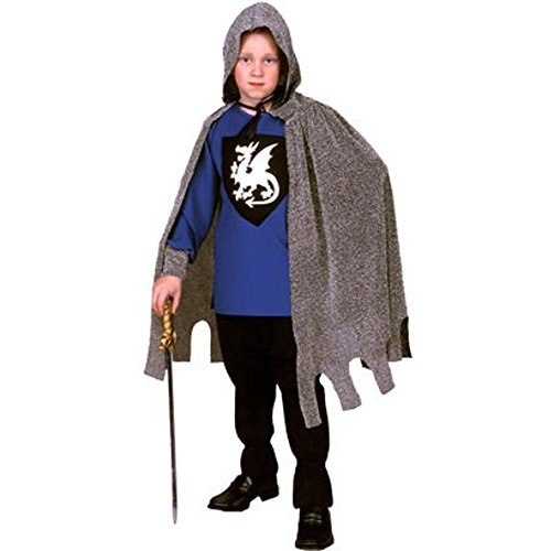 Child's Blue Knight Costume (Size: Large 12-14)