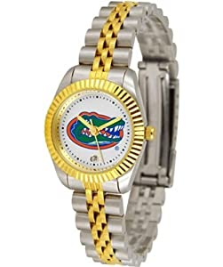 Florida Gators UF NCAA Ladies 23Kt Gold Watch by SunTime