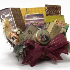 God's Promises Sympathy Gourmet Food Gift Basket for the Grieving