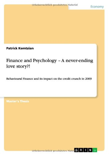 Finance and Psychology - A never-ending love story?!