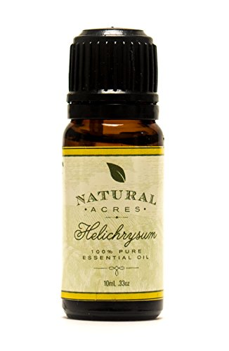 Helichrysum Essential Oil - 100% Pure Therapeutic Grade - 10ml By Natural Acres