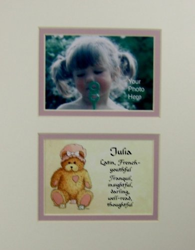 Personalized Baby Name Julia Nursery Wall Decor Keepsake Gift Made In The Usa