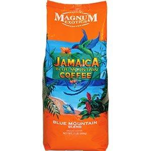 Magnum Exotics Jamaican Blue Mountain Blend Coffee, Ground, 32 Ounce