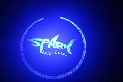 Sparik Enjoy Sparik LED Light Drink Bottle Coaster Bottle Glorifier / LED Light Base (Spark 2 Packs)