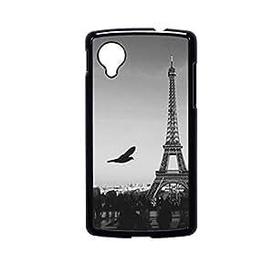 Vibhar printed case back cover for Nexus 5 CenterCity