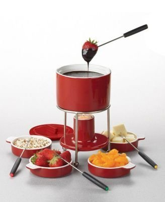 Casamoda Red Nesting Fondue Stacking Set
