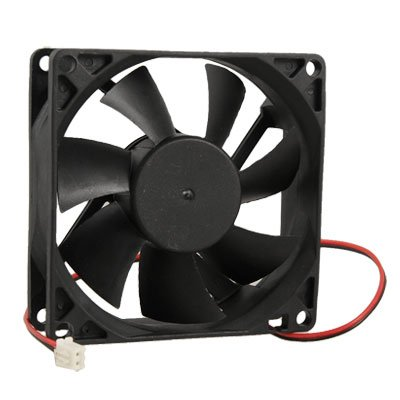 80mm x 25mm DC 24V 2Pin Cooling Fan for PC Computer Case CPU Cooler