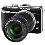 Olympus PEN E-PL1 10x Zoom Lens Kit (E-PL1 Body & M. Zuiko Digital ED 14-150MM F4.0/5.6 Lens)