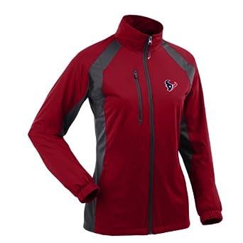 NFL Ladies Houston Texans Rendition Desert Dry Jacket by Antigua