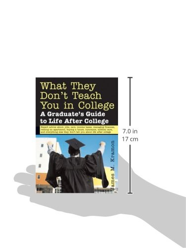 What They Don't Teach You in College: A Graduate's Guide to Life After College