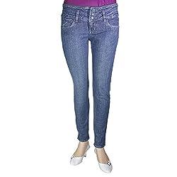 Anjan Women Slim Fit Jeans_ANJ21271_Blue_28