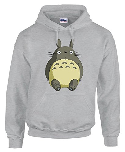 Felpa con cappuccio Totoro - cartoon cartoni - in cotone by Fashwork